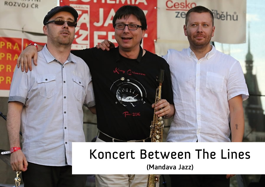 Koncert Between The Lines (Mandava Jazz) - AKCE ZRUŠENA
