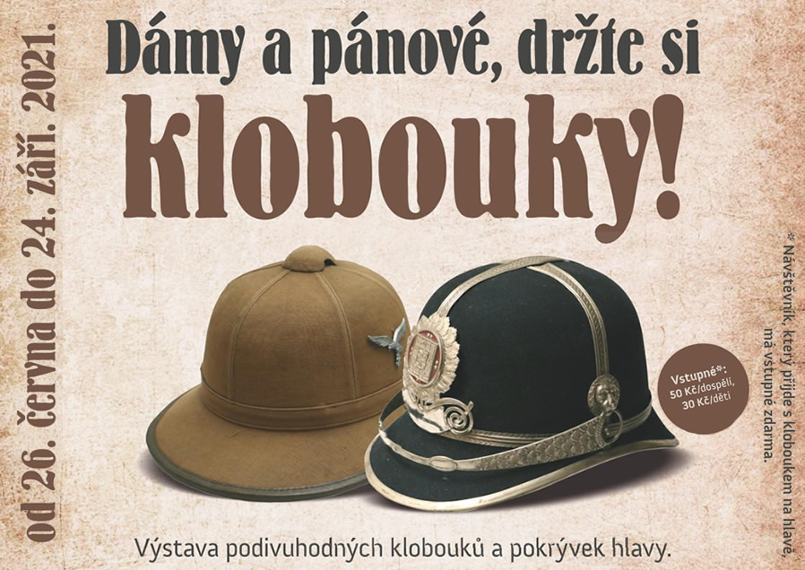 Výstava podivuhodných klobouků a pokrývek hlavy
