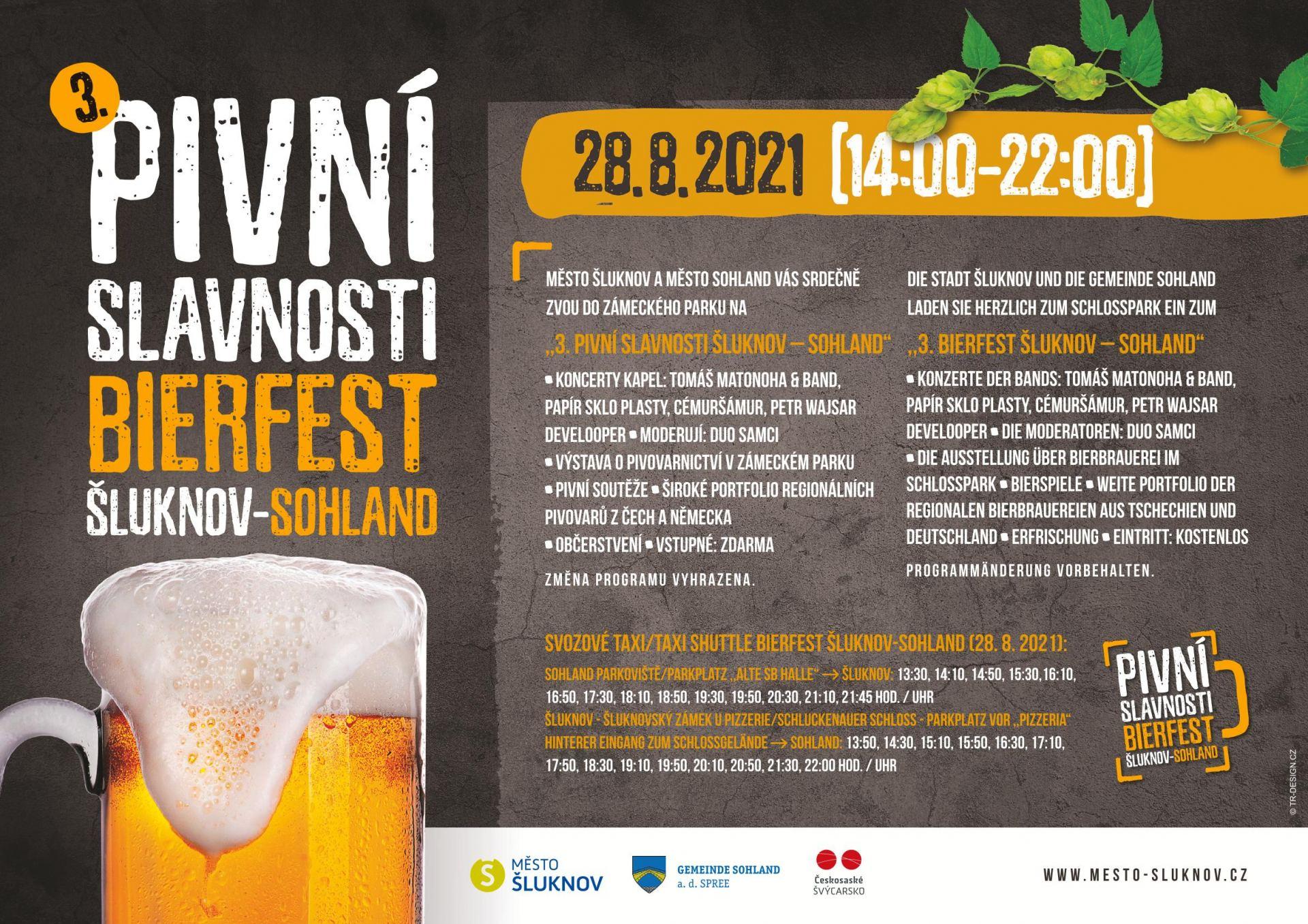 Pivní slavnosti ve Šluknově - Bierfest