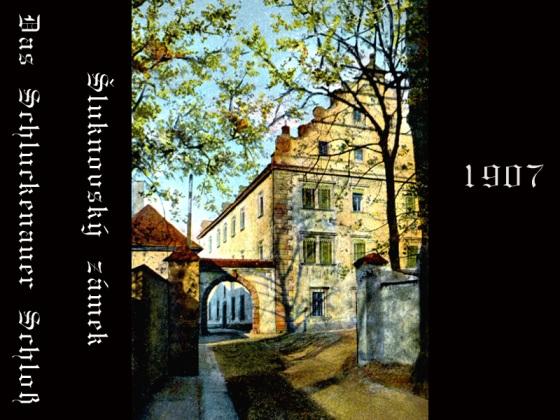 Historické fotografie Šluknovského zámku