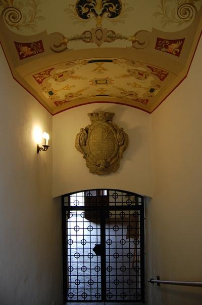 Interiér Šluknovského zámku