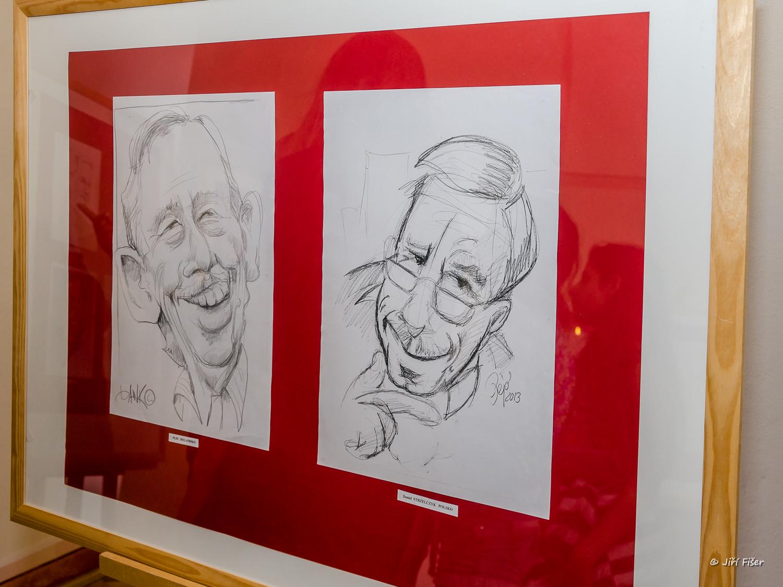 Karikatury Václava Havla