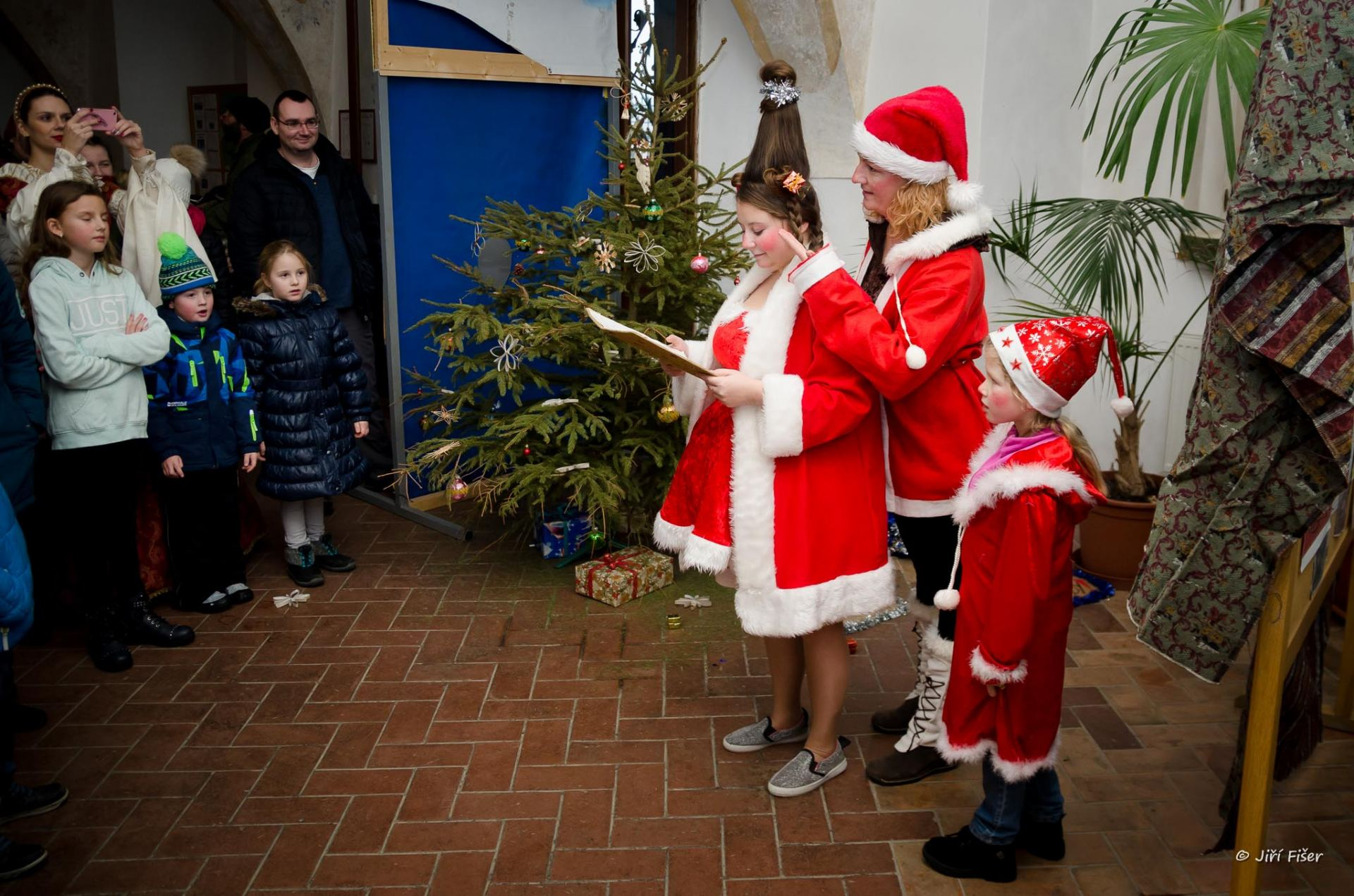 Vánoční pohádková procházka zámkem 2018