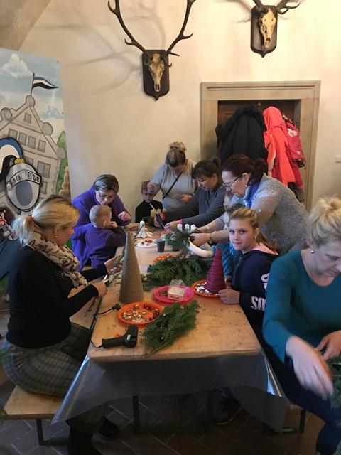 Výroba vánoční výzdoby 2018